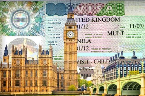 Thủ tục làm visa công tác Anh