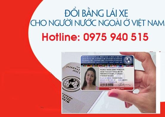 Thủ tục đổi giấy phép lái xe của nguời nước ngoài tại Việt Nam