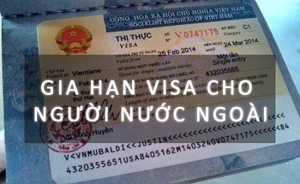 Gia-han-visa-du-lich-cho nguoi-nuoc-ngoai-tai-Viet-Nam