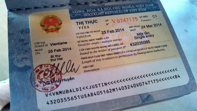 Xin visa Việt Nam cho người LYBI