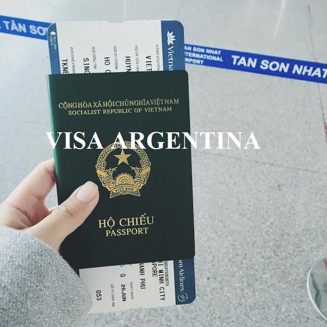 Thủ tục xin visa Argentina