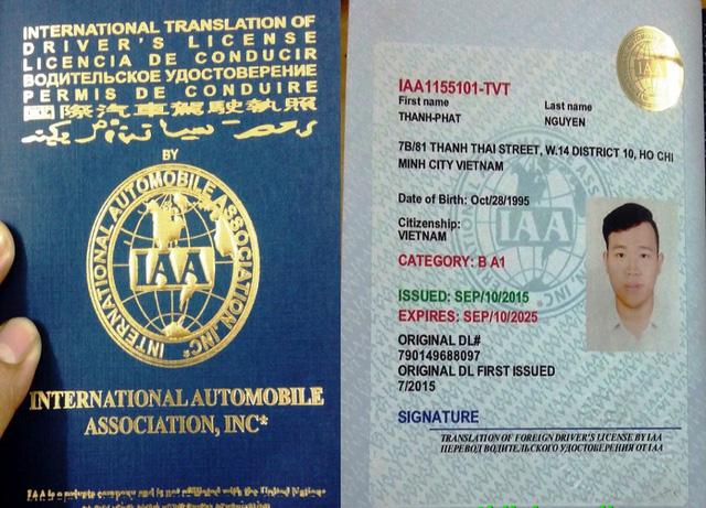 Bằng lái xe quốc tế có lái được ở Việt Nam?