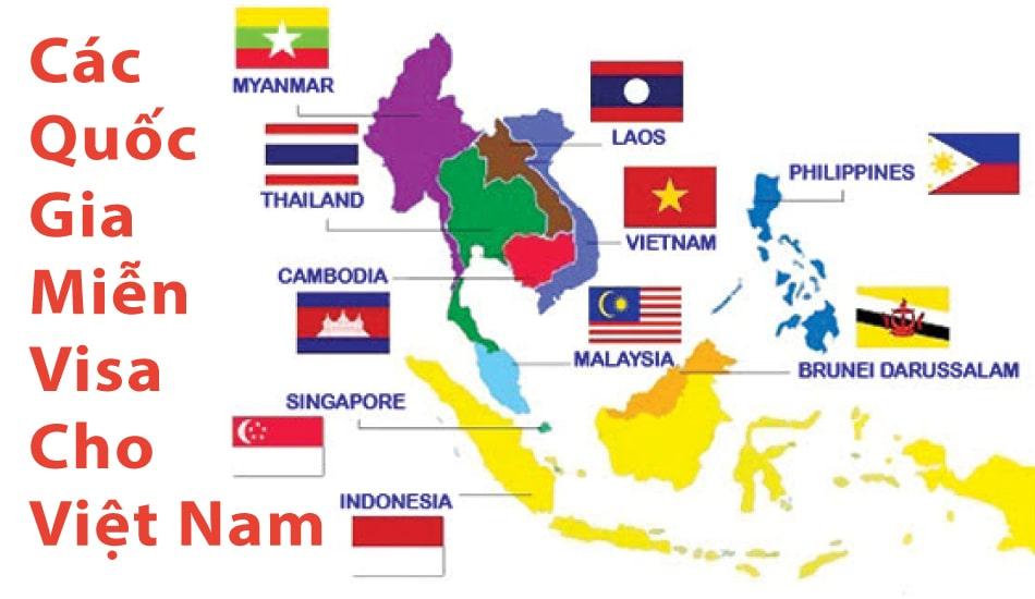 Danh sách các nước miễn visa cho Việt Nam – Du lịch chỉ cần hộ chiếu