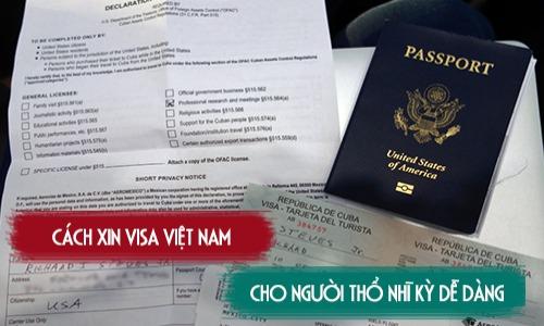 xin visa việt nam cho người thổ nhỉ kỳ