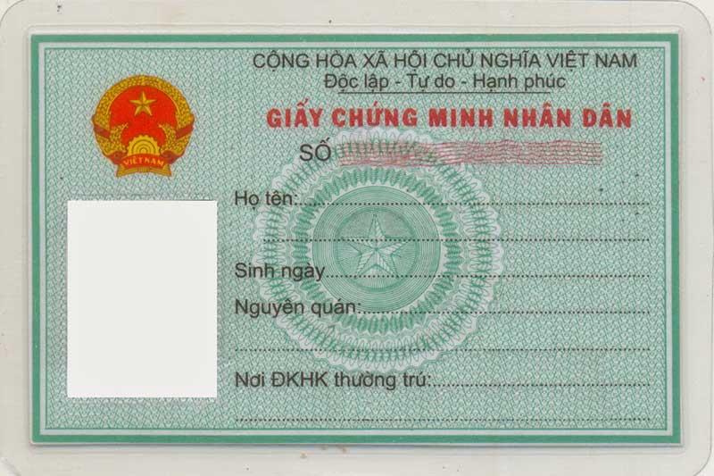 Đầu số cmnd các tỉnh thành Việt nam cập nhật 2020