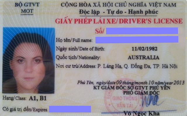 3 điều cần biết khi làm bằng lái xe quốc tế