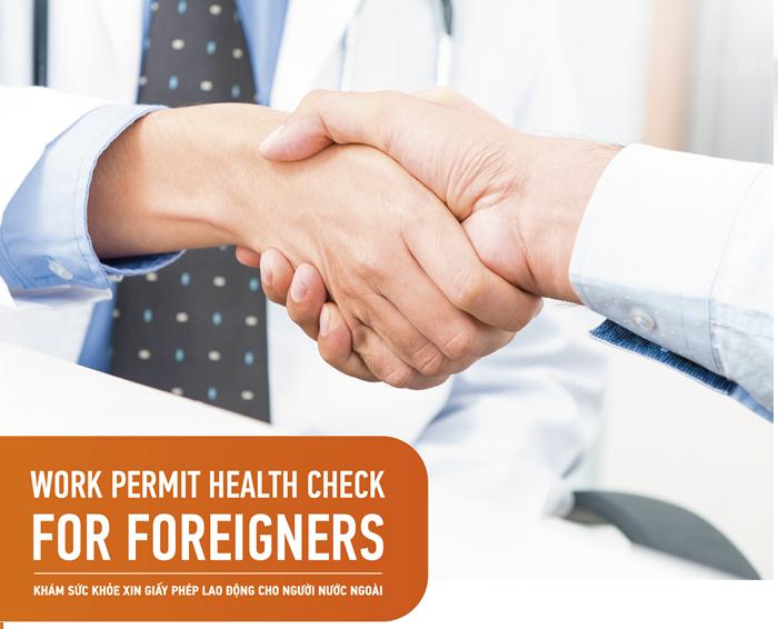 Dịch vụ giấy khám sức khỏe cho người nước ngoài