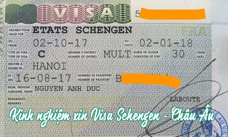 Xin visa Schengen nước nào dễ nhất? Thủ tục xin visa gồm những gì?