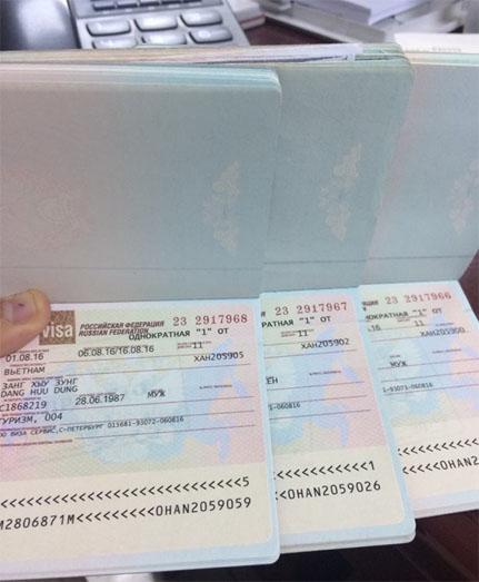 Dịch vụ gia hạn visa công tác tại Nga