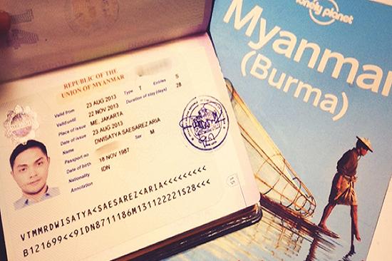 Dịch vụ làm visa đi Myanmar Nhanh , Khẩn 1 ngày