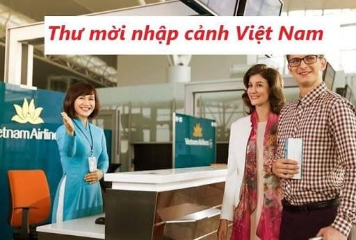 Thủ tục làm thư mời người nước ngoài nhập cảnh Việt Nam