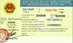 Công văn nhập cảnh vào Việt Nam cho người nước ngoài