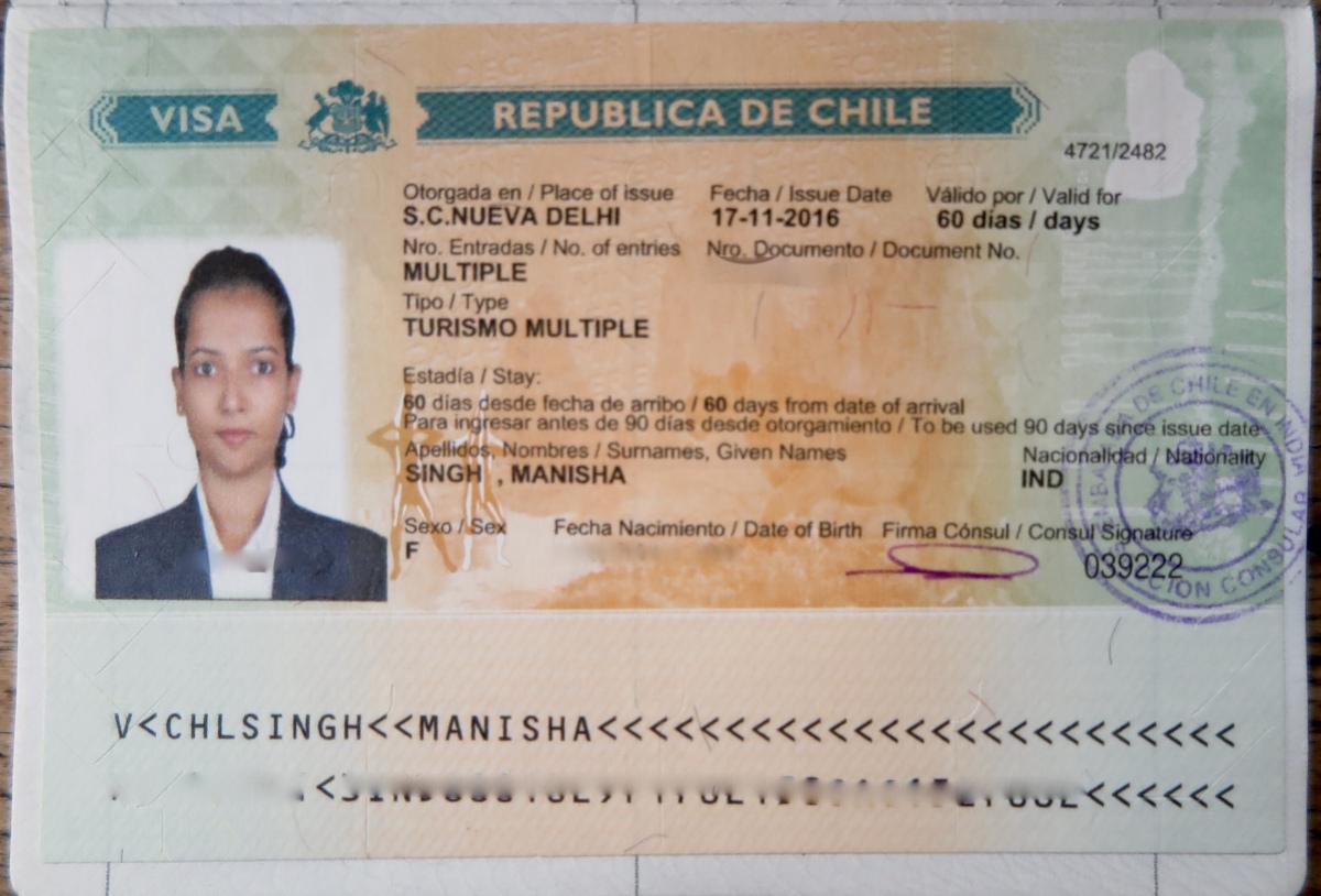 Dịch vụ làm visa đi Chile