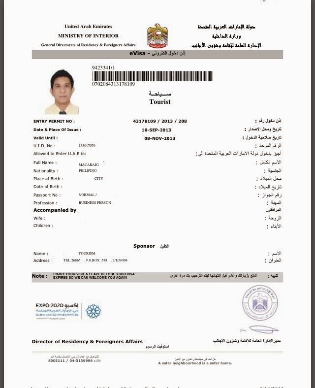 Dịch vụ làm visa đi Dubai tại công ty Khởi Nguyên