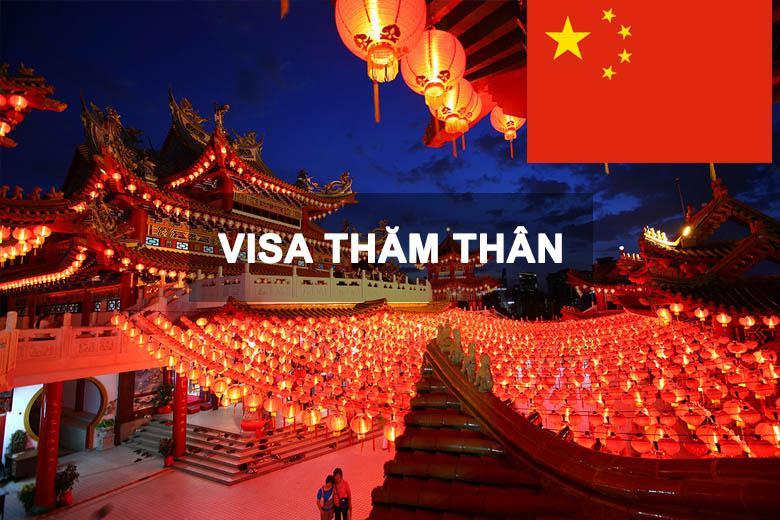 Thủ tục xin visa thăm thân Trung Quốc đủ – chính xác nhất 2020