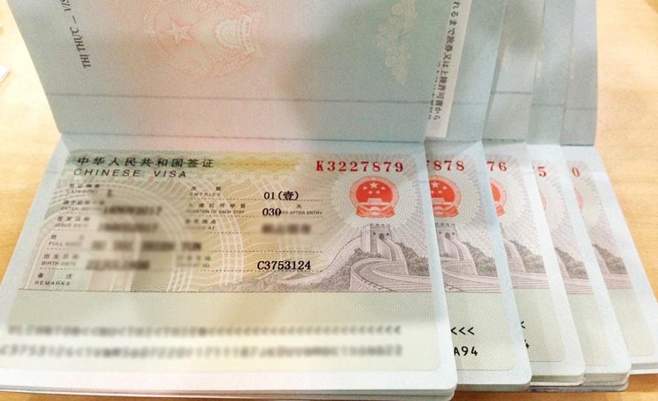 Thủ tục xin visa Trung Quốc 6 tháng nhiều lần cần gì?
