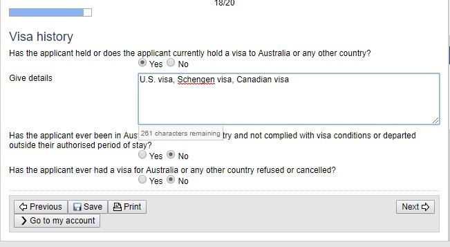 Hướng dẫn cách đăng kí visa Úc online