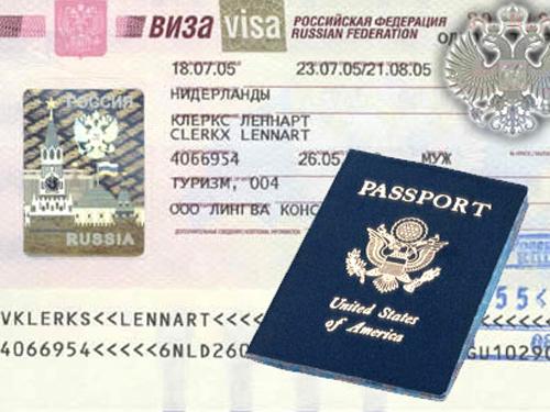 Thủ tục xin visa du lịch-công tác Nga