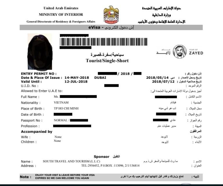 Hướng dẫn xin visa Dubai online mới nhất 2020 với chi phí rẻ